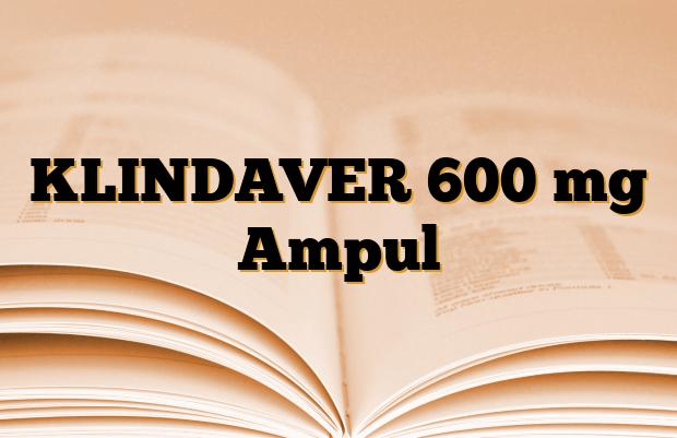 KLINDAVER 600 mg Ampul
