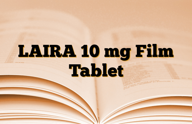 LAIRA 10 mg Film Tablet