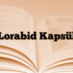 Lorabid Kapsül