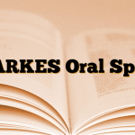 MARKES Oral Sprey
