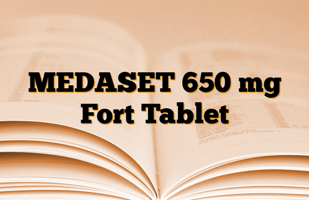 MEDASET 650 mg Fort Tablet