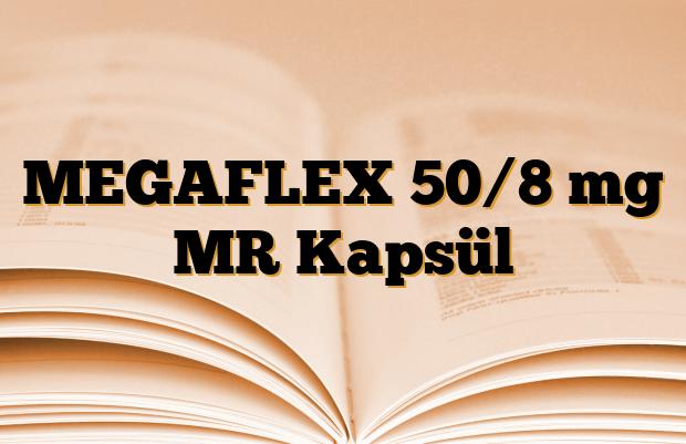 MEGAFLEX 50/8 mg MR Kapsül