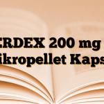 MERDEX 200 mg SR Mikropellet Kapsül
