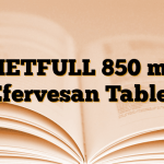 METFULL 850 mg Efervesan Tablet