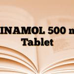 MINAMOL 500 mg Tablet