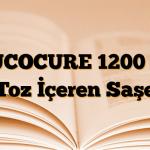MUCOCURE 1200 mg Toz İçeren Saşe