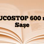 MUCOSTOP 600 mg Saşe