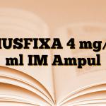 MUSFIXA 4 mg/2 ml IM Ampul