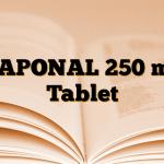 NAPONAL 250 mg Tablet