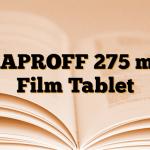 NAPROFF 275 mg Film Tablet