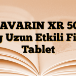NAVARIN XR 500 mg Uzun Etkili Film Tablet