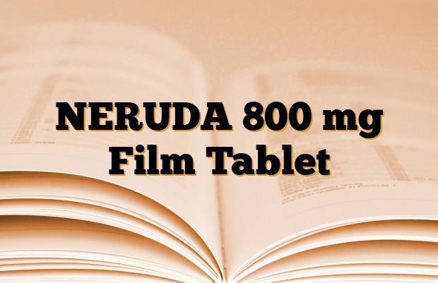 NERUDA 800 mg Film Tablet