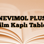 NEVIMOL PLUS Film Kaplı Tablet