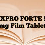 NEXPRO FORTE 550 mg Film Tablet