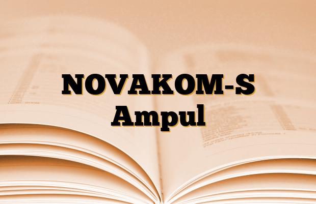 NOVAKOM-S Ampul