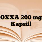 OXXA 200 mg Kapsül