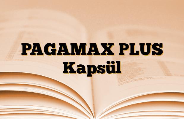 PAGAMAX PLUS Kapsül