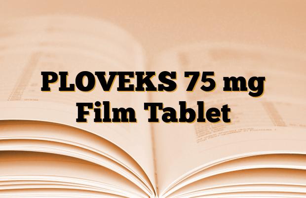 PLOVEKS 75 mg Film Tablet