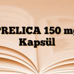 PRELICA 150 mg Kapsül