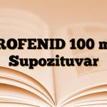 PROFENID 100 mg Supozituvar