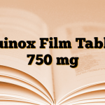 Quinox Film Tablet 750 mg