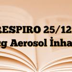RESPIRO 25/125 mcg Aerosol İnhaler