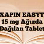REXAPIN EASYTAB 15 mg Ağızda Dağılan Tablet