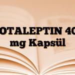 ROTALEPTIN 400 mg Kapsül