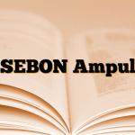 SEBON Ampul