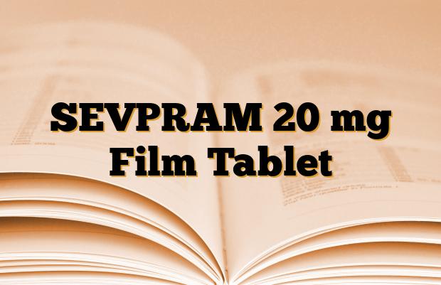 SEVPRAM 20 mg Film Tablet