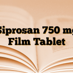 Siprosan 750 mg Film Tablet