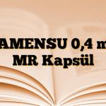 TAMENSU 0,4 mg MR Kapsül