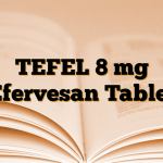 TEFEL 8 mg Efervesan Tablet