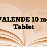 VALENDE 10 mg Tablet