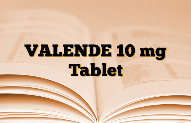 VALENDE 10 mg Tablet
