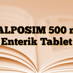 VALPOSIM 500 mg Enterik Tablet