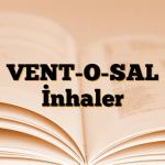 VENT-O-SAL İnhaler