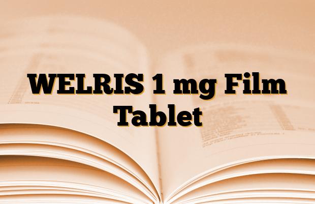 WELRIS 1 mg Film Tablet