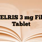 WELRIS 3 mg Film Tablet