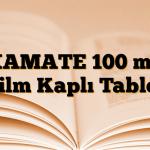 XAMATE 100 mg Film Kaplı Tablet