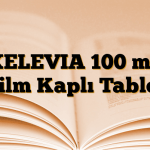 XELEVIA 100 mg Film Kaplı Tablet