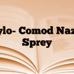 Xylo- Comod Nazal Sprey