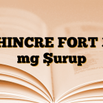 ZHINCRE FORT 30 mg Şurup
