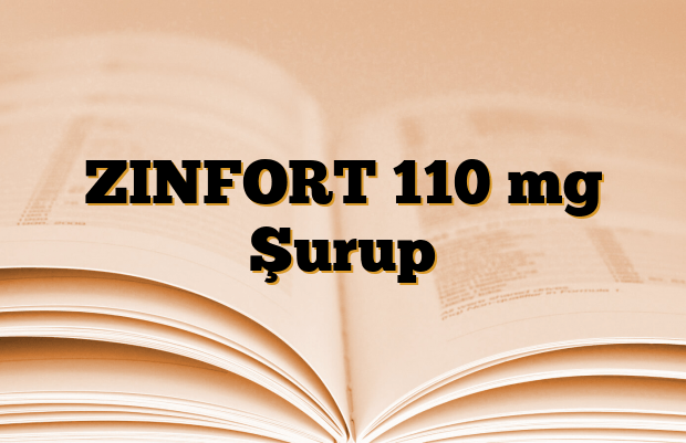 ZINFORT 110 mg Şurup