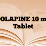 ZOLAPINE 10 mg Tablet