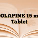 ZOLAPINE 15 mg Tablet