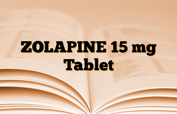 ZOLAPINE 15 mg Tablet