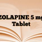 ZOLAPINE 5 mg Tablet