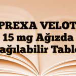 ZYPREXA VELOTAB 15 mg Ağızda Dağılabilir Tablet