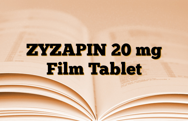 ZYZAPIN 20 mg Film Tablet